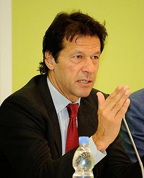 Imran Khan, Photo: Heinrich Boll, from Wikicommons