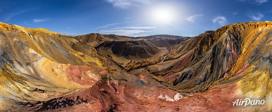 Colorful Mountains Mars 2, © AirPano