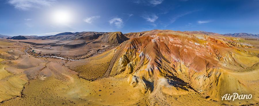 Colorful Mountains Mars 1, © AirPano