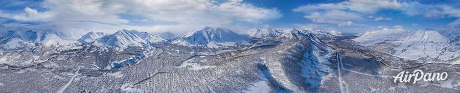 Snow Valley, Kamchatka, Russia, © AirPano