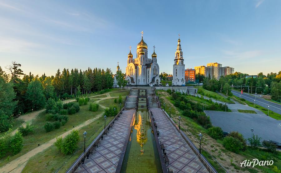 Temple Complex in Khanty-Mansiysk, Russia, © AirPano
