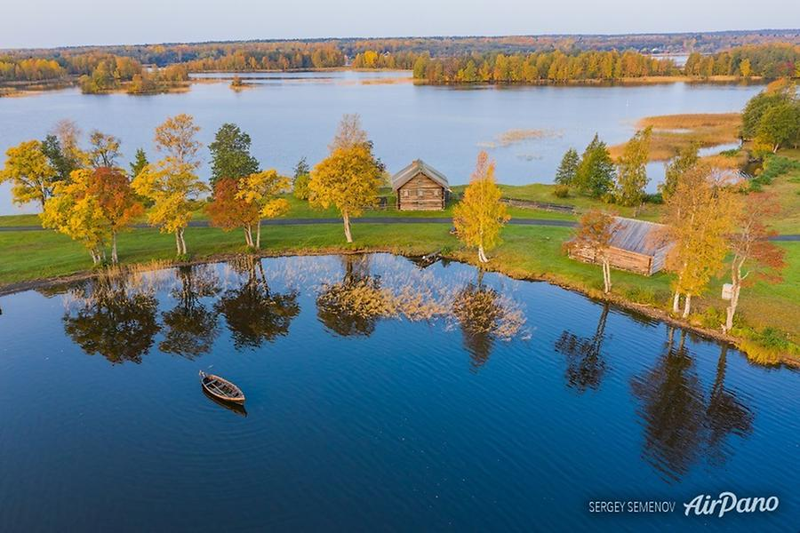 Kizhi Open Air Museum, Republic of Karelia, Russia, © AirPano
