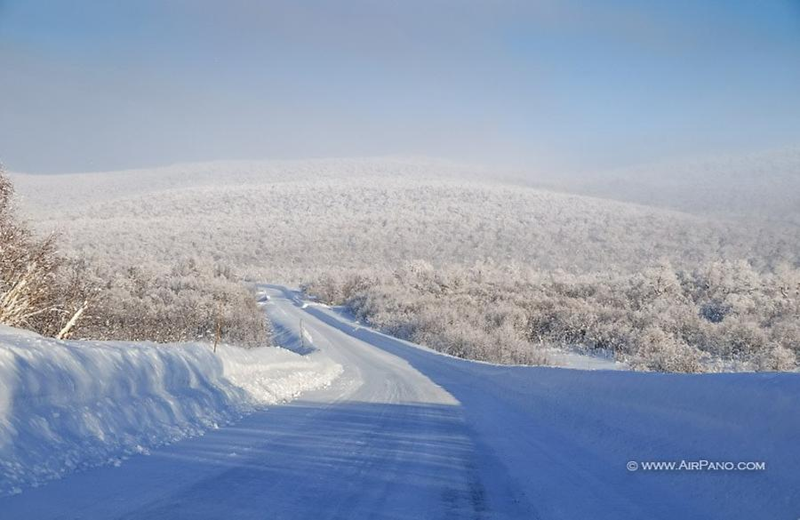 Kamchatka in winter