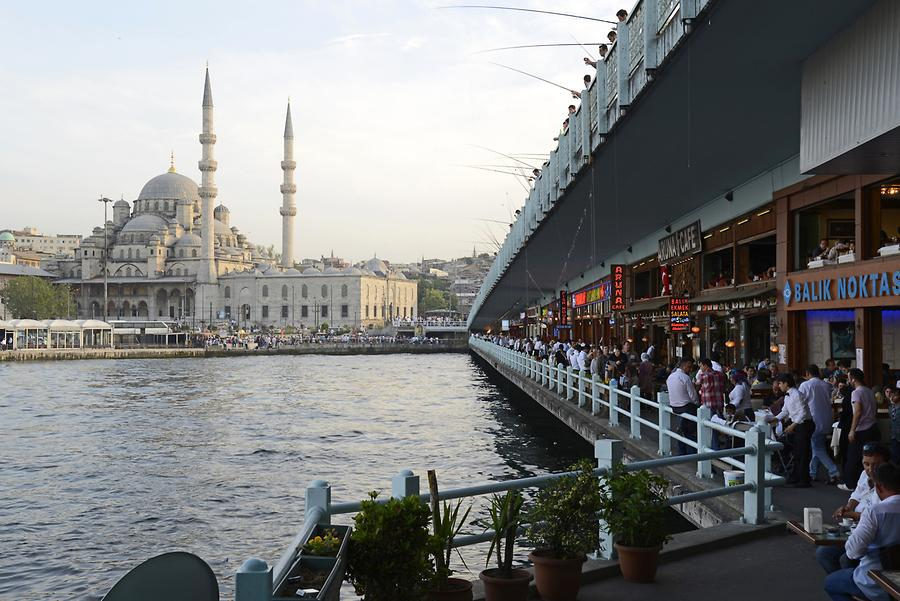 Galata Bridge - Restaurants