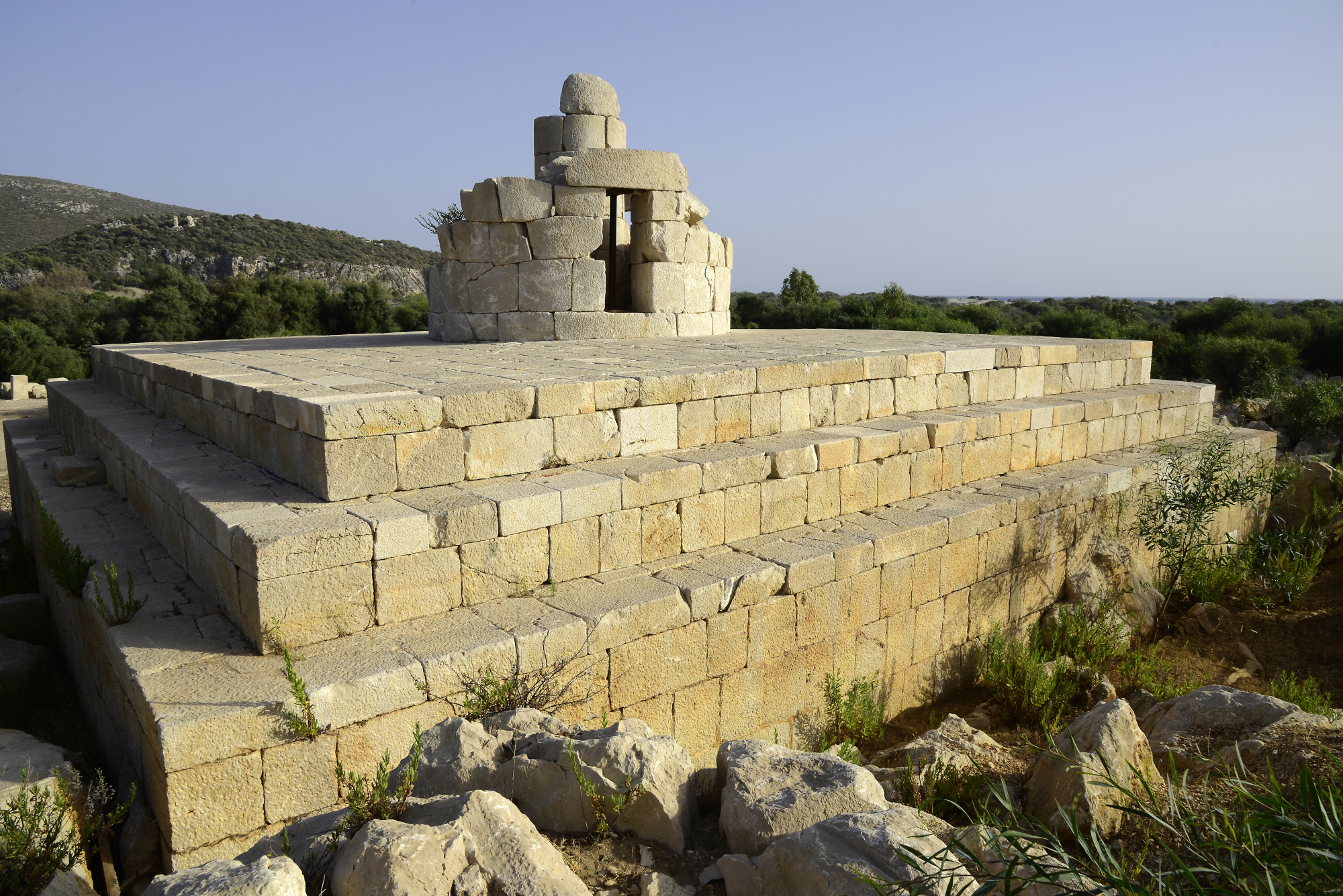 Patara - Lighthouse (2) | Patara | Pictures | Turkey in Global-Geography