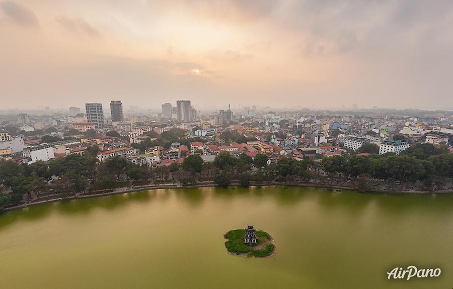 Tortoise Tower in the South of Hoàn Kiếm Lake, © AirPano