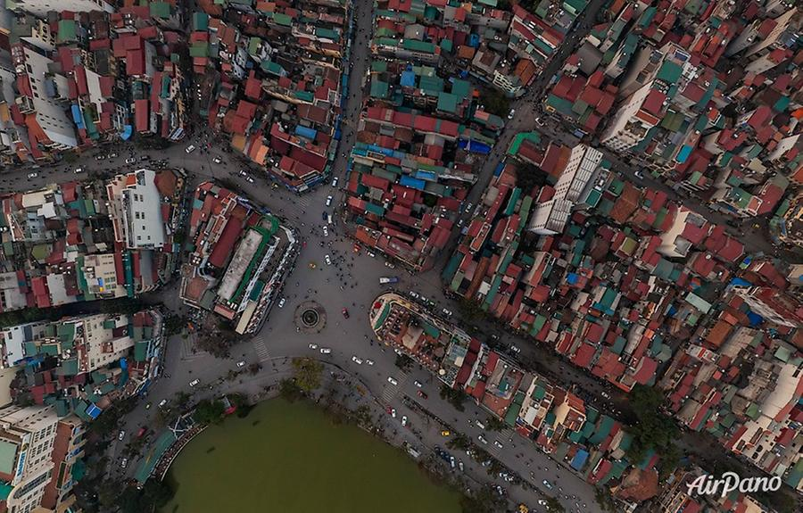Hanoi from above, © AirPano