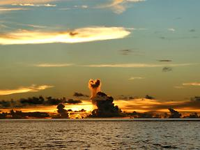 Ngulu Atoll at Sunset (1)