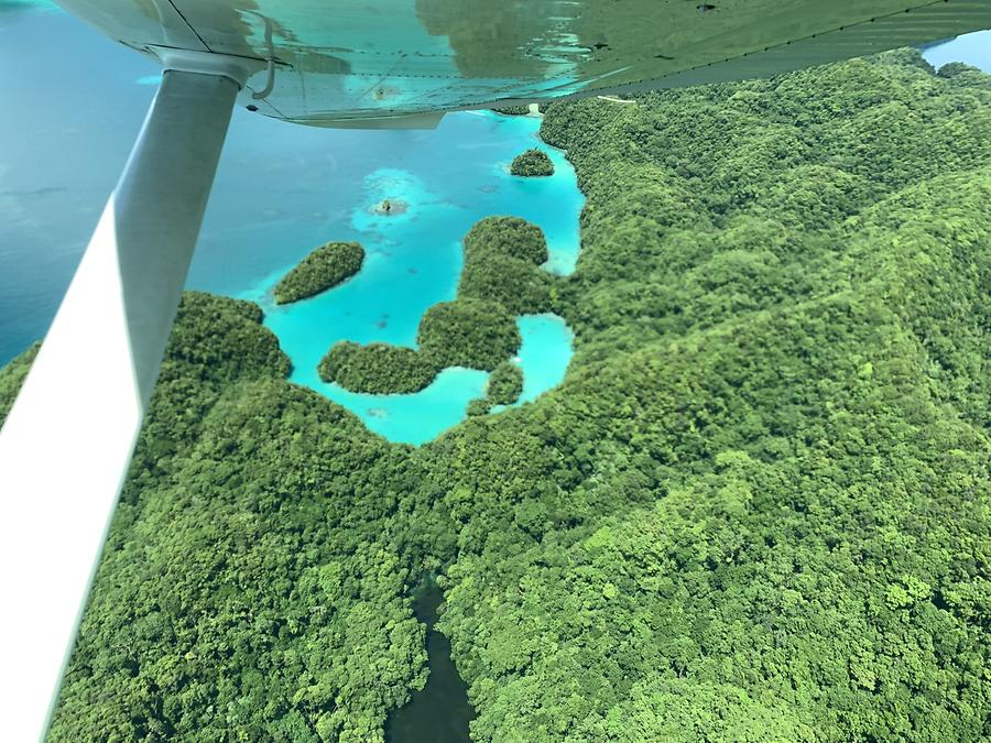 Palau from the Air