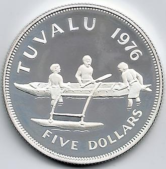 5 Dollars silver coin