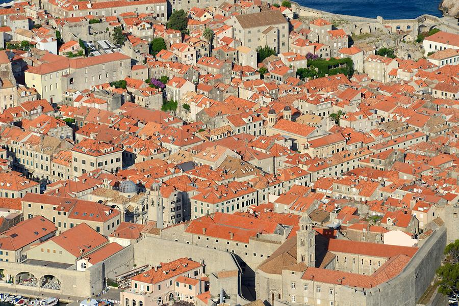Dubrovnik Viewed from Above