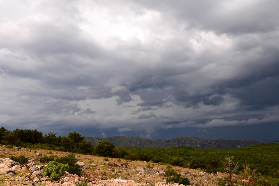 Stormy Atmosphere on Srđ Mountain