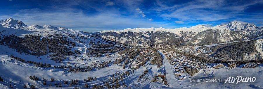 Courchevel, France, © AirPano
