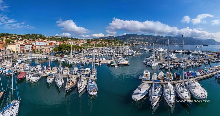 At the port of Saint-Jean-Cap-Ferrat