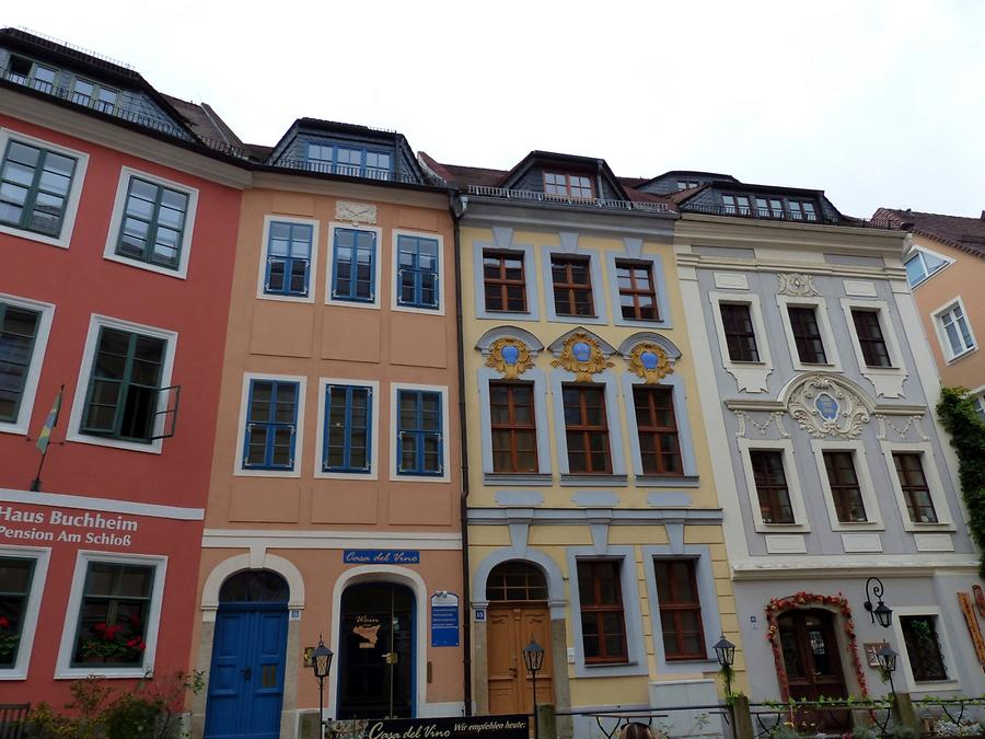 Bautzen - Bourgeois Houses near Matthias Tower