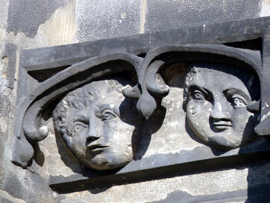 Görlitz - St. Peter and St. Paul's Church; Heads from 1240