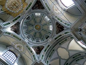Mannheim - Church of the Jesuits; Domed Ceiling