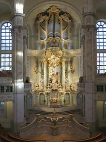 Dresden - Church of Our Lady, Altar (1)