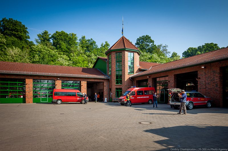 Fire Station in Germany, © AirPano