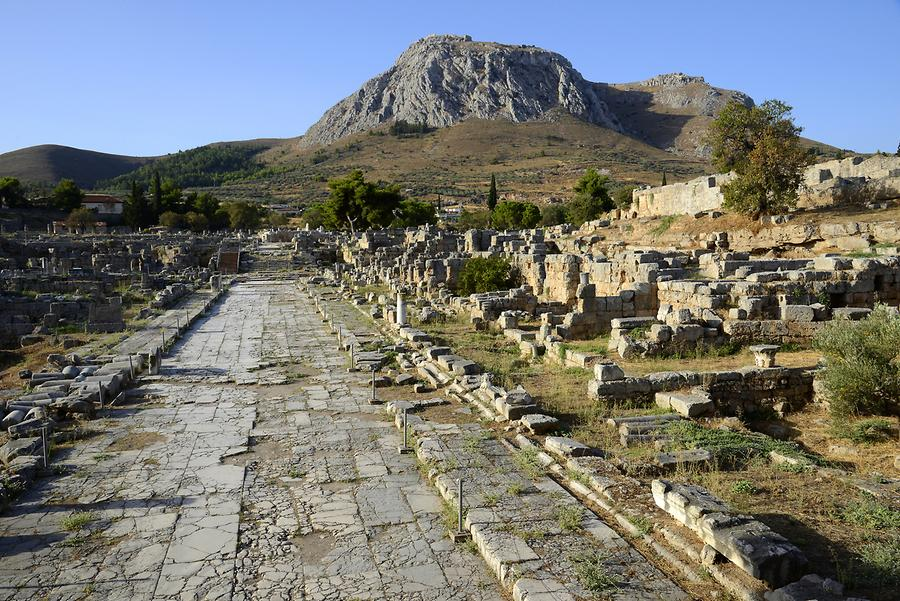 Agora of Ancient Corinth
