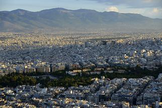 Athens at sunrise