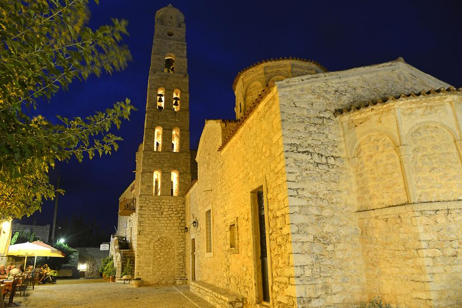 Areopoli at Night