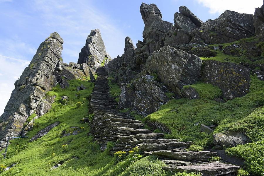 Skellig Michael - Ascent