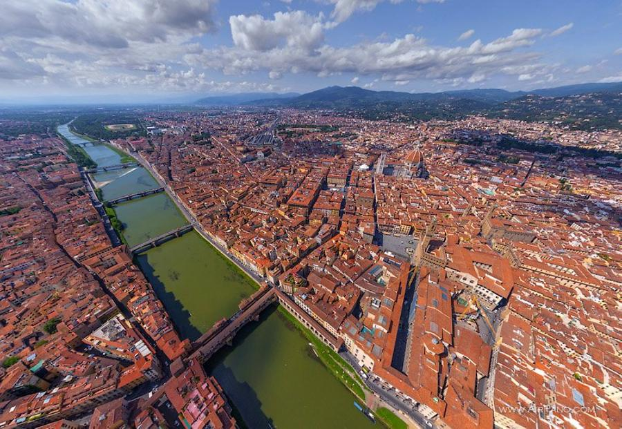 Over the Arno River