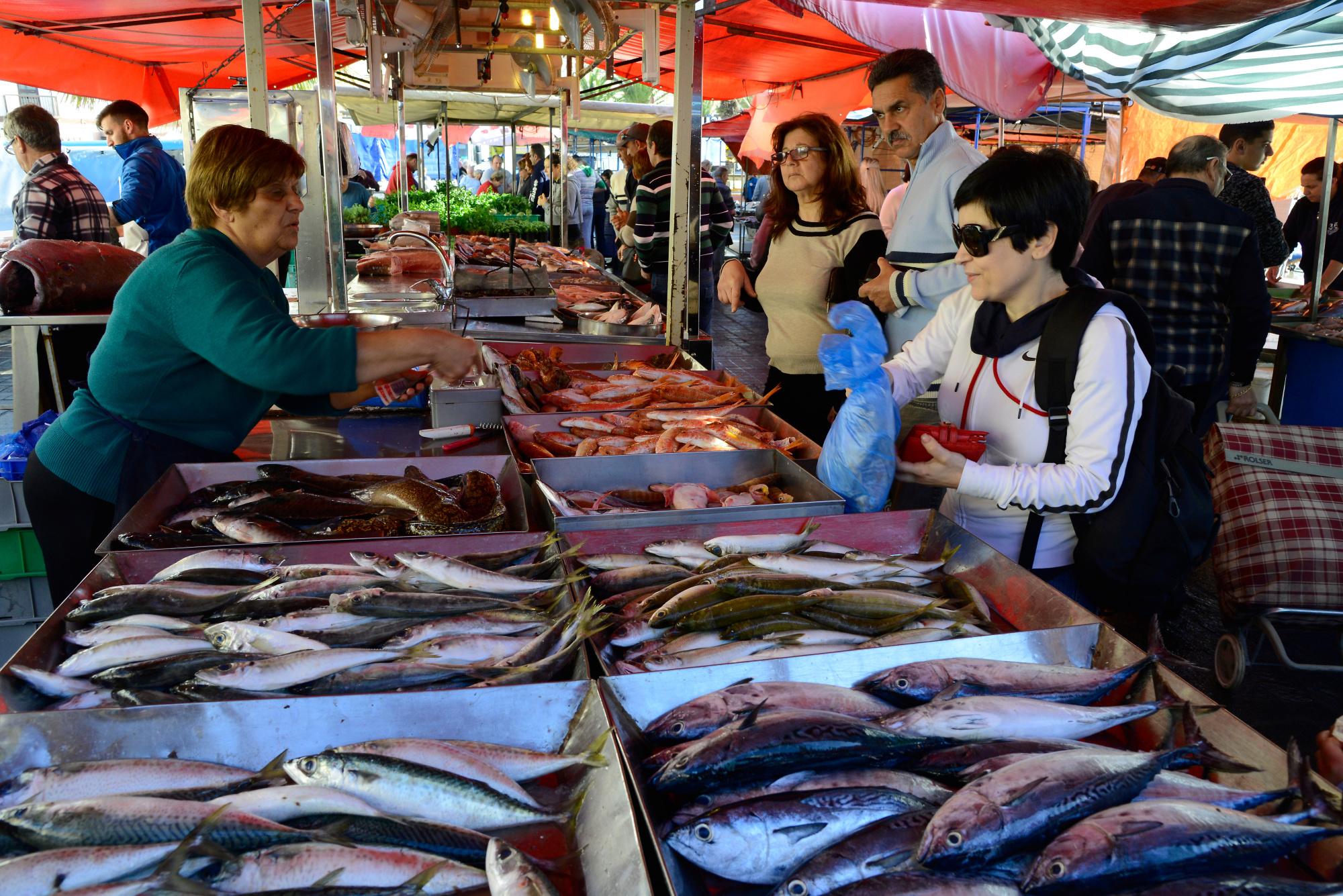 Image result for malta  fish market
