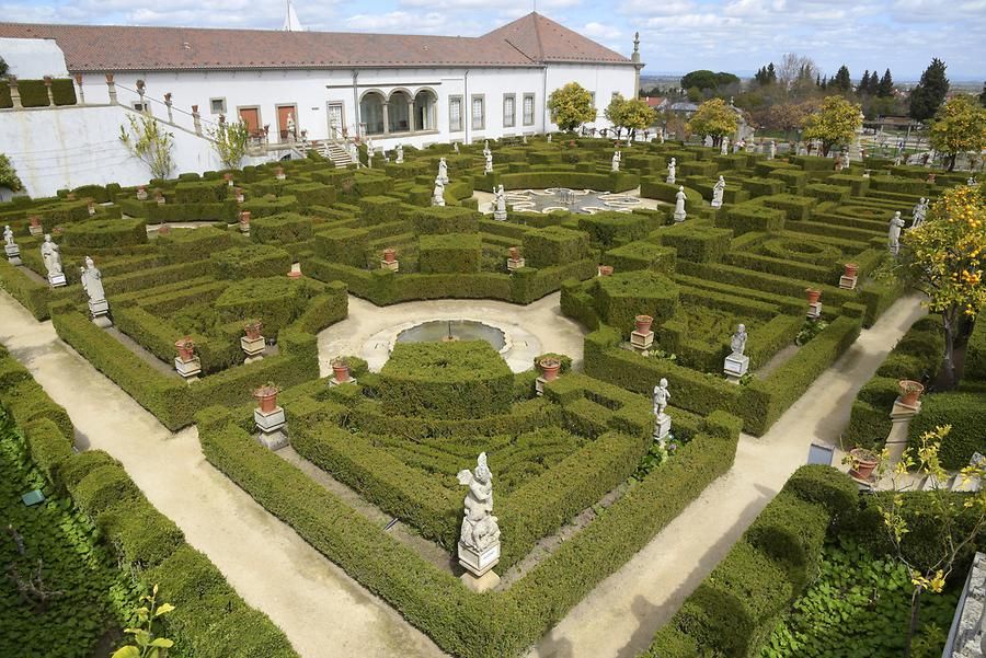 Castelo Branco - Garden of the Episcopal Palace