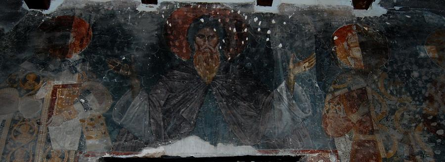 St. Simeon – Stefan is the founder of the Nemanjić dynasty(1113 - 1199).Photo: Dragan Radovanović, 2009, Photo made available by Mathematical Institute SANU, Belgrade