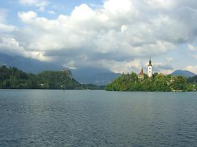 Lake Bled and Bled island (1)