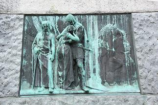 Prešeren Monument - The Baptism on the Savica