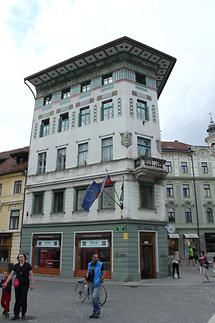 Prešeren Square - Art Nouveau Buildings (2)