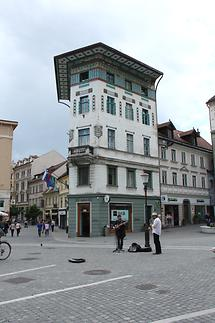Prešeren Square - Art Nouveau Buildings (3)