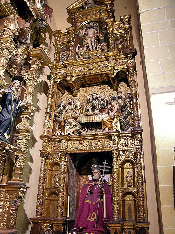 Arcos de la Frontera - Altar of St. Peter in San Pedro Petersaltar