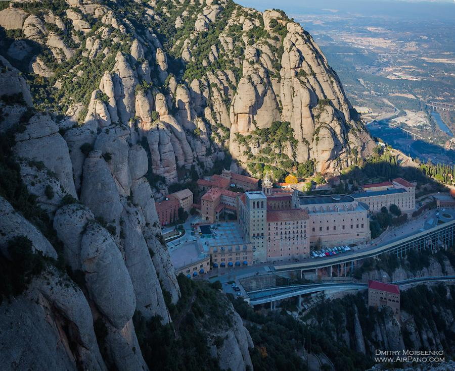Abbey of Montserrat, Spain, © AirPano