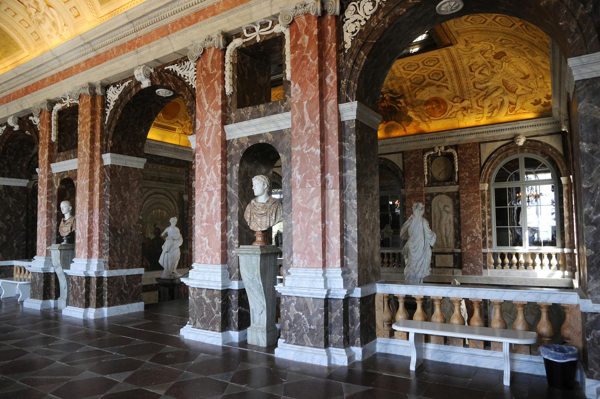 Drottningholm palace inside