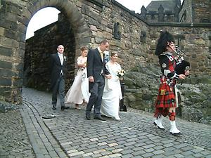 Wedding at Edinburgh Castle