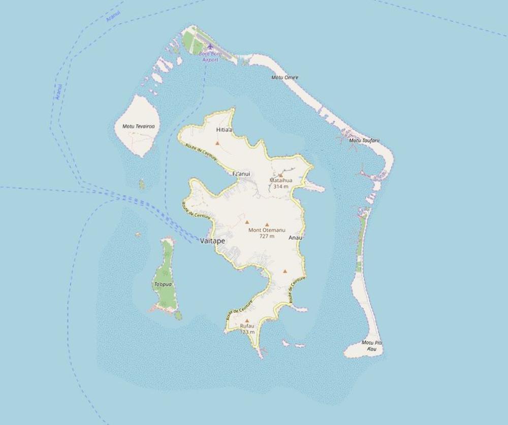 Bora-Bora Bora | French Polynesia - Overview | Special Information ...