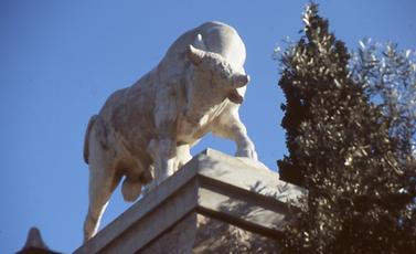 Bull of the grave of Dionysios of Kollitos