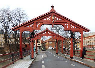 Old Nidelva-bridge