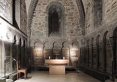 Chapel in the transept