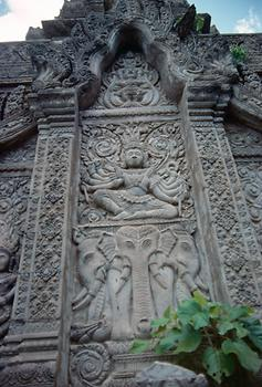 Detail of one of the stupas