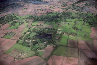 Landscape and Settlement at Siem Reap.