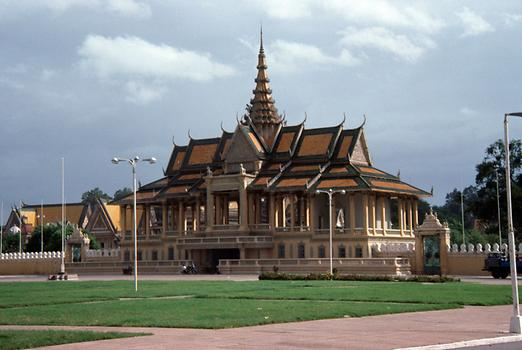 Pavillon of a royal palace in Phnom Penh.