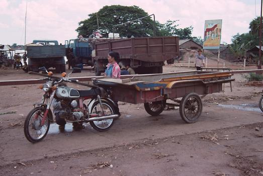Mass transport for overland travel.