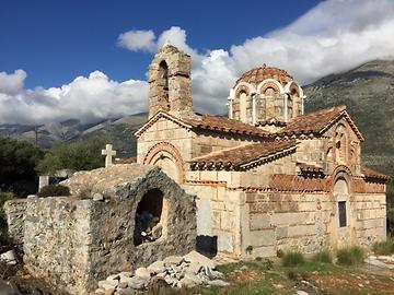 St. Barbara chruch in Erimos