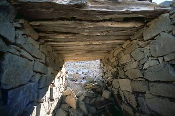 One of the passages through the walls built in the 4th century BC