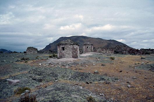 Tombs, Chullpas, and ruins of Marcahuasi.